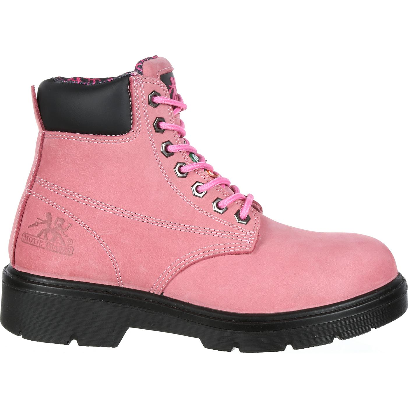 bb4c5902ea7 Moxie Trades Women's Alice Steel Toe CSA-Approved Puncture-Resistant Work  Boot