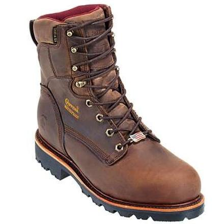 Chippewa Waterproof Insulated Lace-Up Work Boot, , large