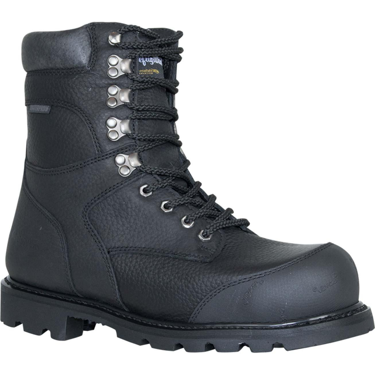 f476c18f2b8 RefrigiWear Titanium Leather Composite Toe Waterproof 800g Insulated Work  Boot