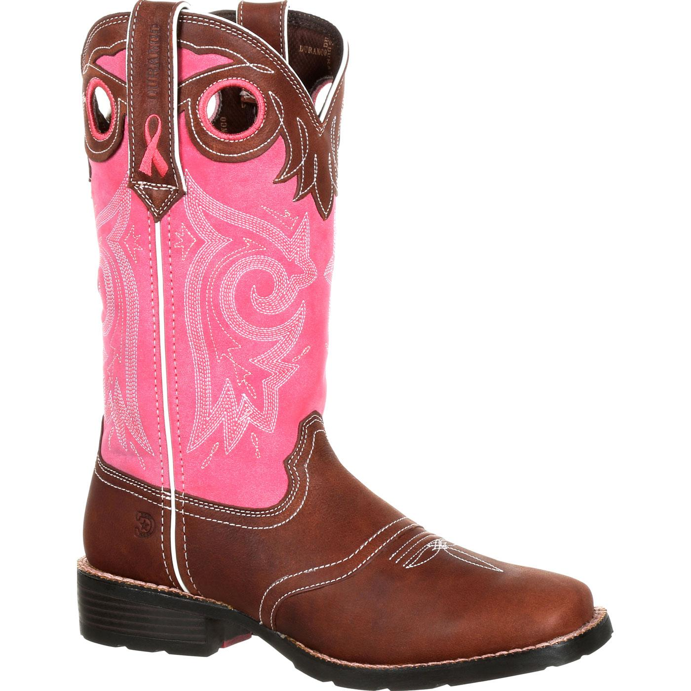 Women's Boot Cancer Durango Mustang Breast Drd0321 qEg6TpT
