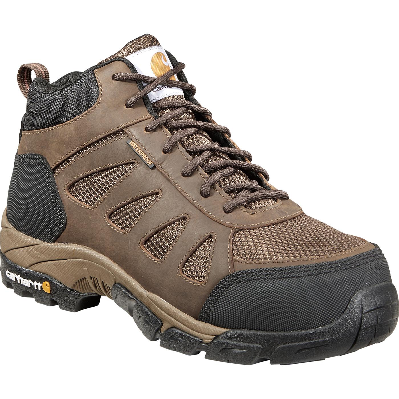 d69810ae1de Carhartt Lightweight Men's 4 inch Carbon Nano Toe Electrical Hazard  Waterproof Work Hiker