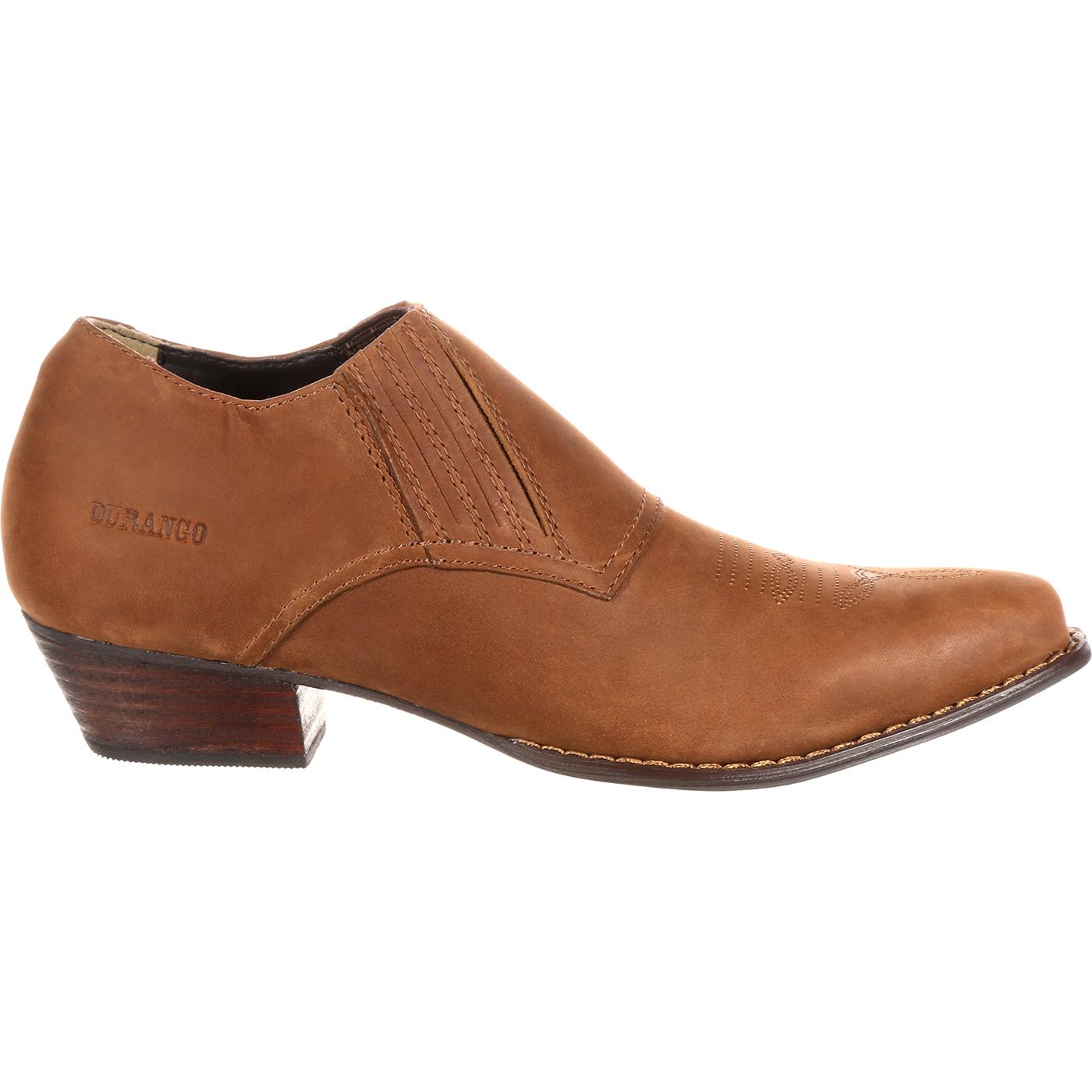 25d65f994 Women's Comfort Brown Western Shoe Boot, Crush by Durango