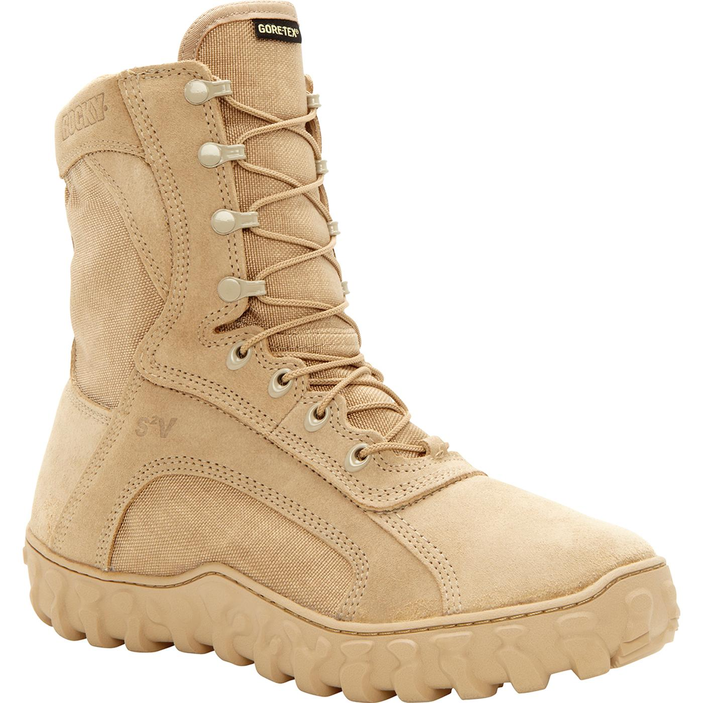 afc09496036 Rocky S2V Waterproof 400G Insulated Tactical Military Boot
