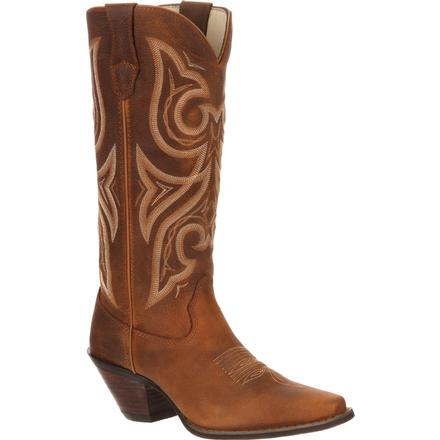Crush by Durango Women's Tan Jealousy Western Boot, , large
