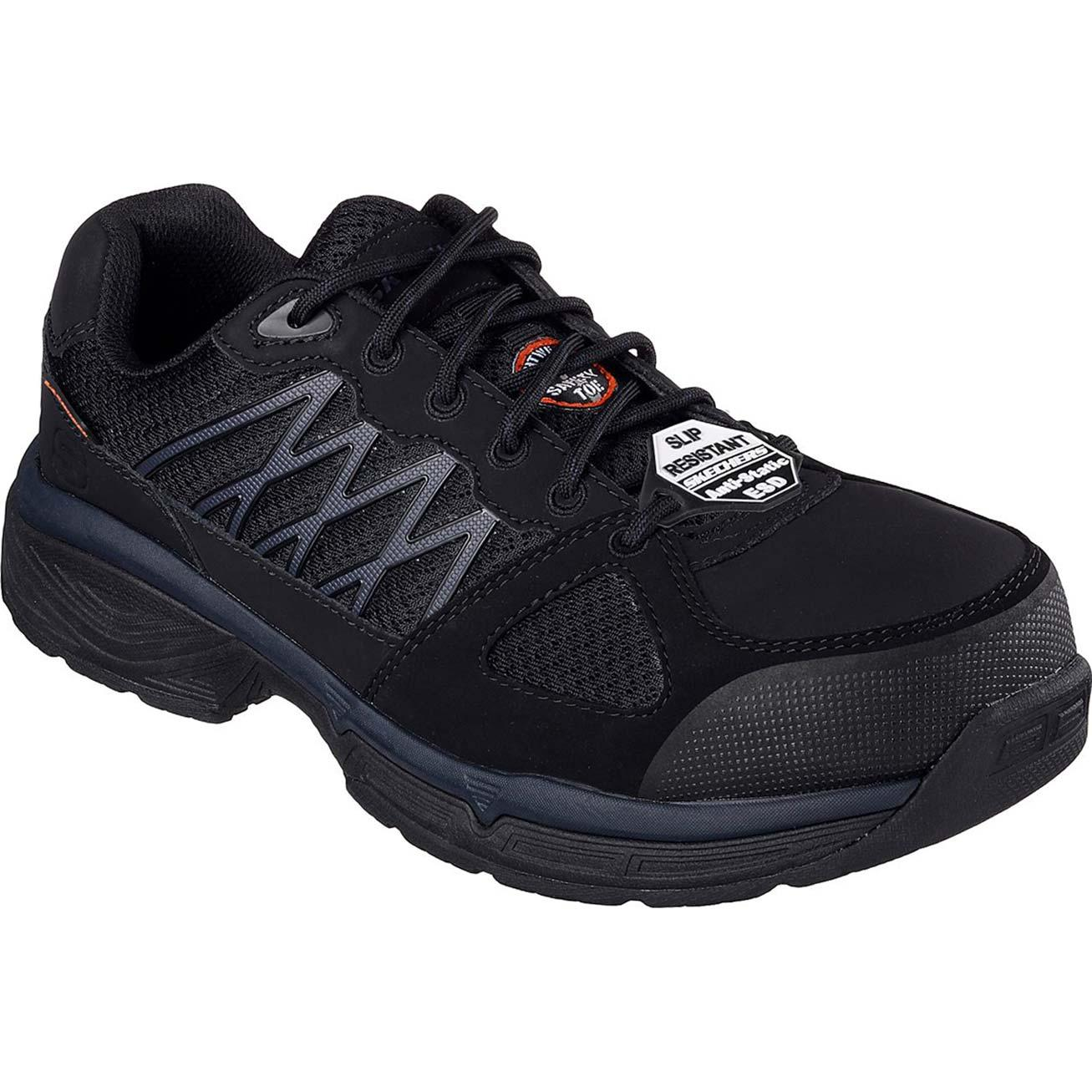 edf9425aa7b63 SKECHERS Work Relaxed Fit Conroe Searcy ESD Alloy Toe Static-Dissipative  Work Athletic ShoeSKECHERS Work Relaxed Fit Conroe Searcy ESD Alloy Toe ...