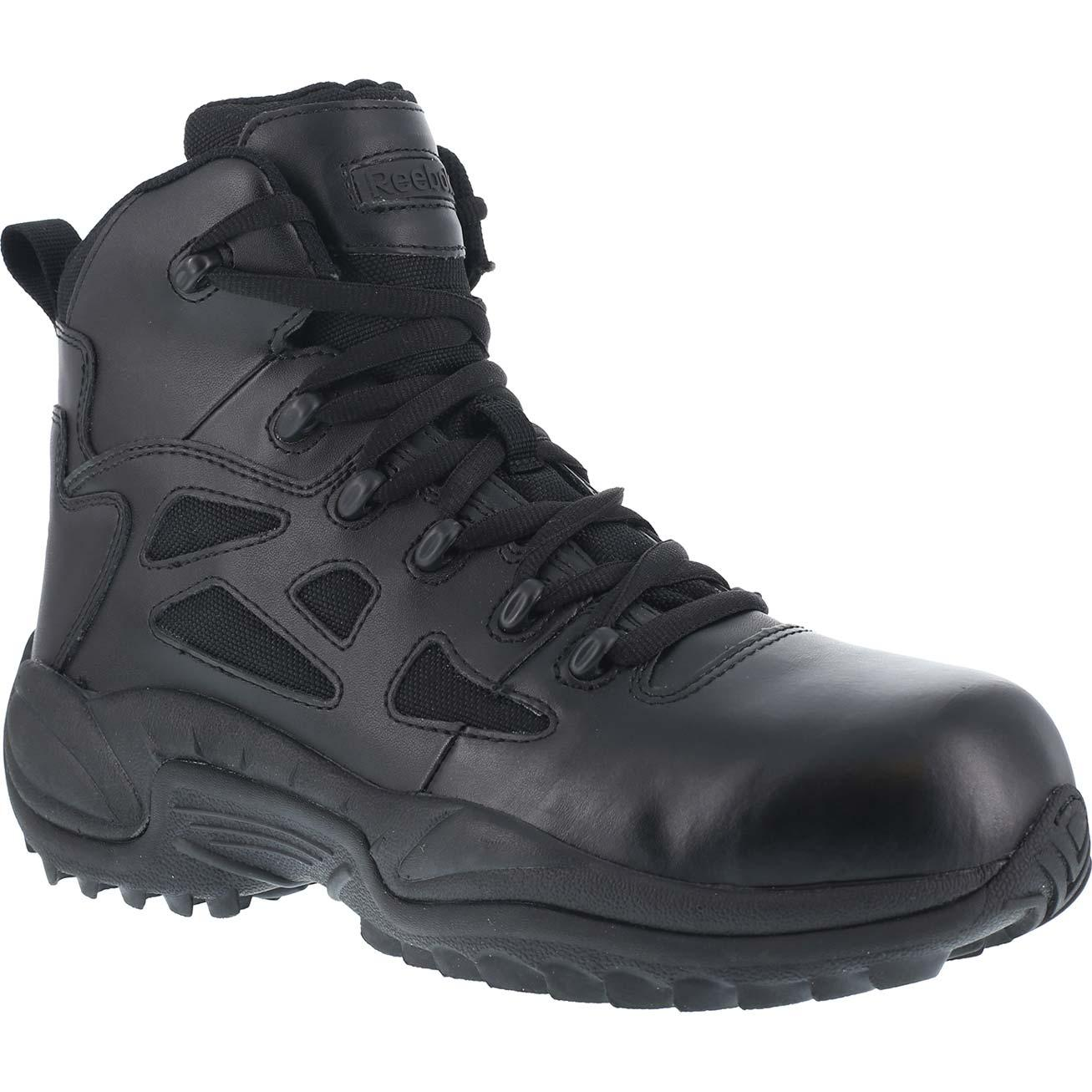 Black Reebok 6 Quot Women S Composite Toe Duty Boot W Side