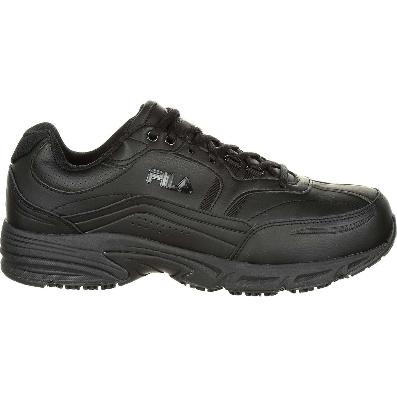 4d30109662 Fila Memory Workshift Steel Toe Slip-Resistant Work Athletic Shoe