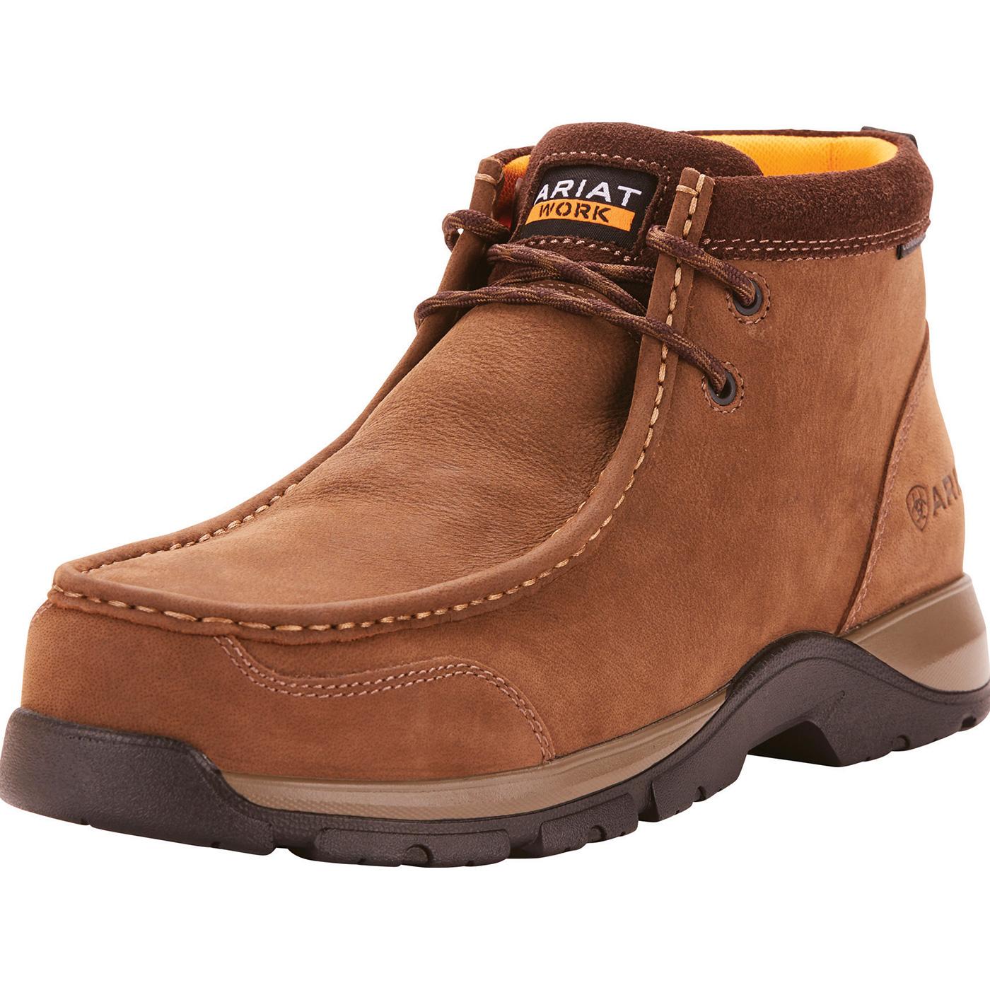 3d58fac7815 Ariat Edge LTE Men's 4.5 inch Composite Moc Toe Electrical Hazard Work Shoe