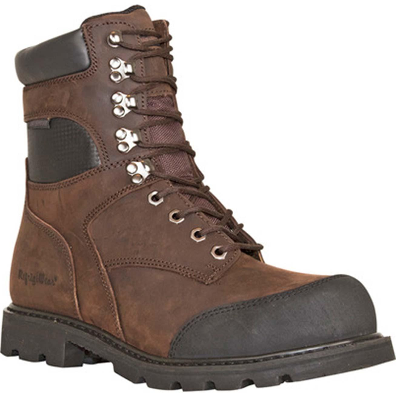 df25b1786c9 RefrigiWear Platinum Leather Composite Toe CSA-Approved Puncture-Resistant  Waterproof 1000g Insulated Work Boot