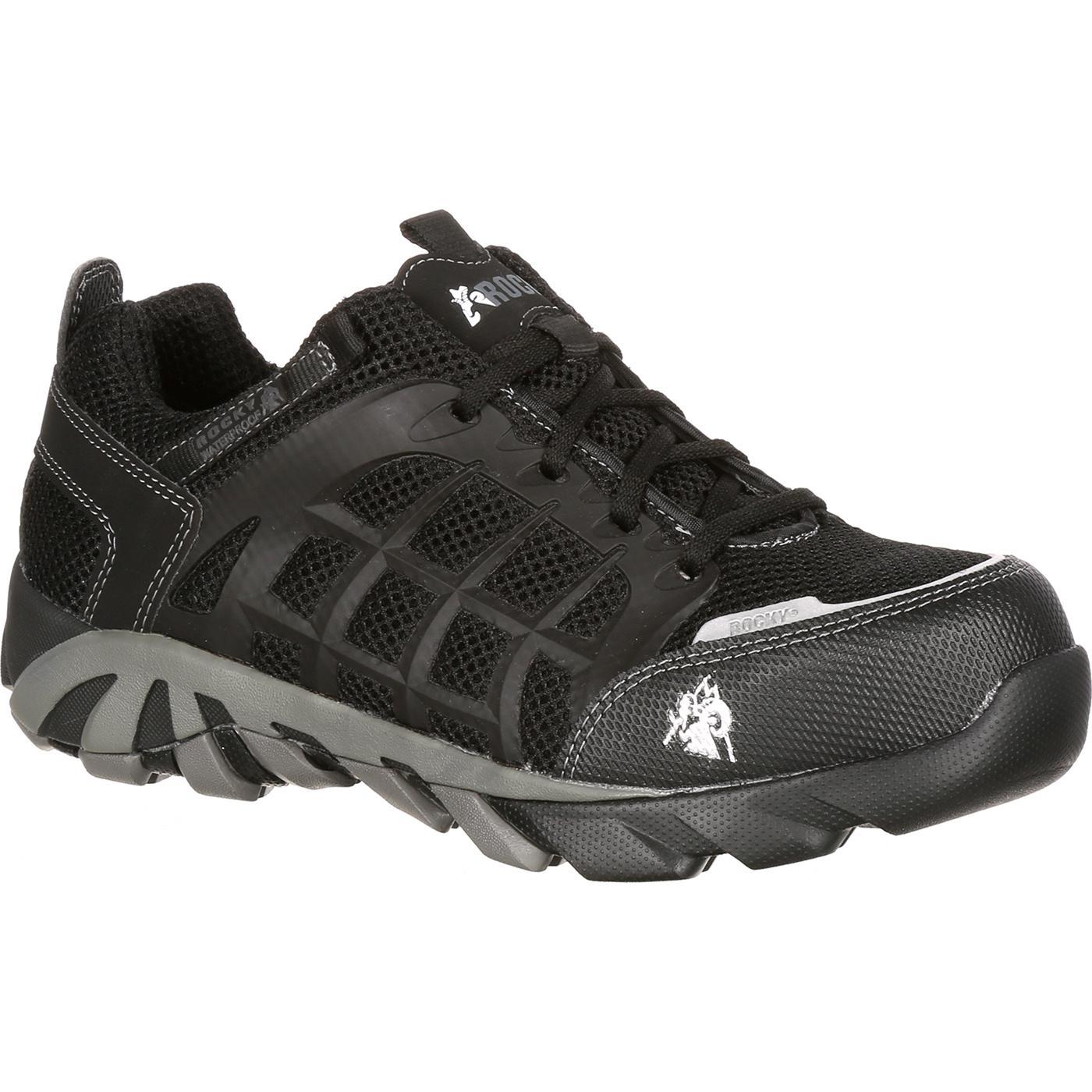 Black Composite Toe Waterproof Sneaker Rocky Trailblade