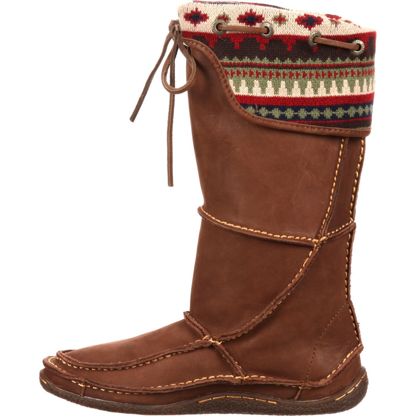 Durango City Santa Fe Women S Tall Moccasin Boots Style