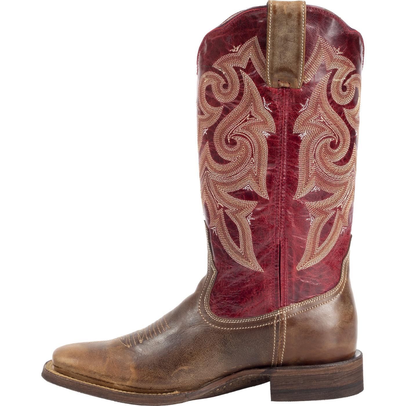 fb4483c40bb Rocky HandHewn Women's Square Toe Western Boot