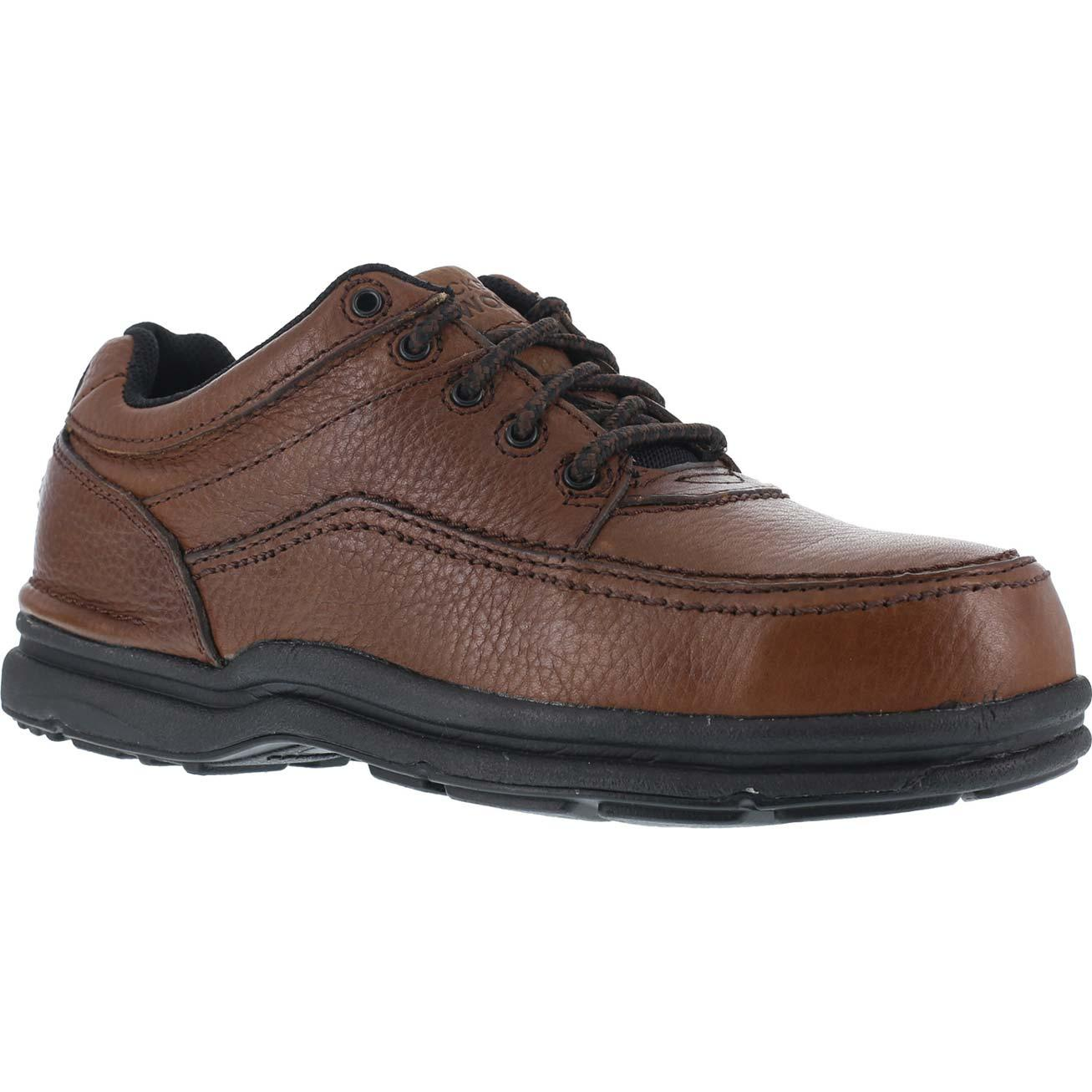 Rockport Works World Tour Steel Toe Static-Dissipative Work Oxford, , large