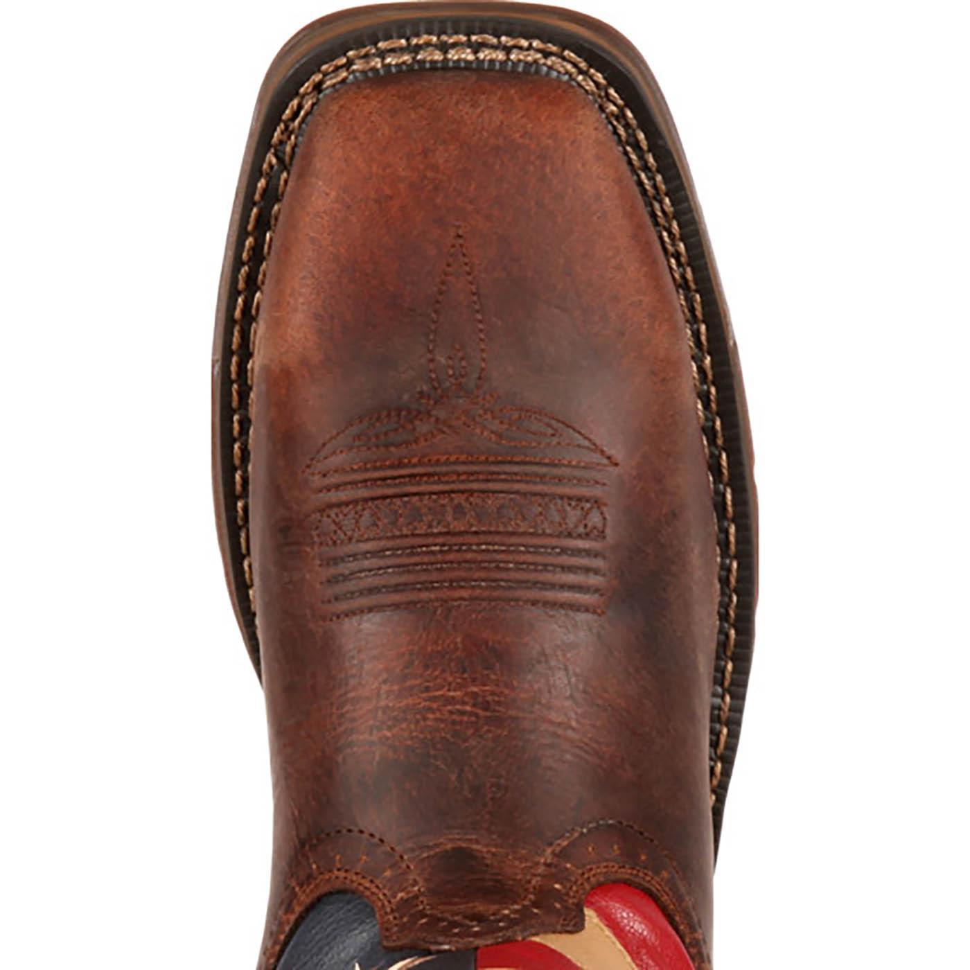 Steel Toe Shoes Patriotic