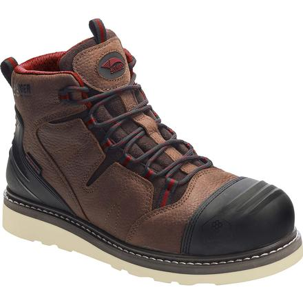 Avenger Carbon Nanofiber Toe Waterproof Pull-On Work Boot, , large