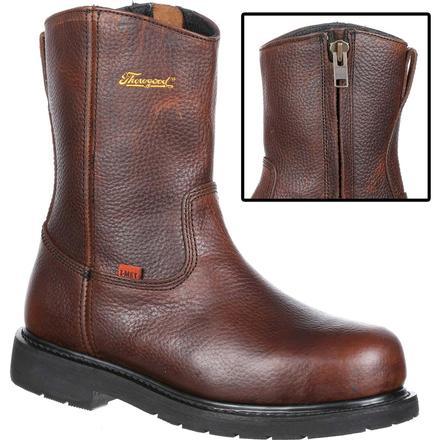 b4cde23798b Thorogood I-MET2 Side-Zip Steel Toe Met-Guard Work Wellington