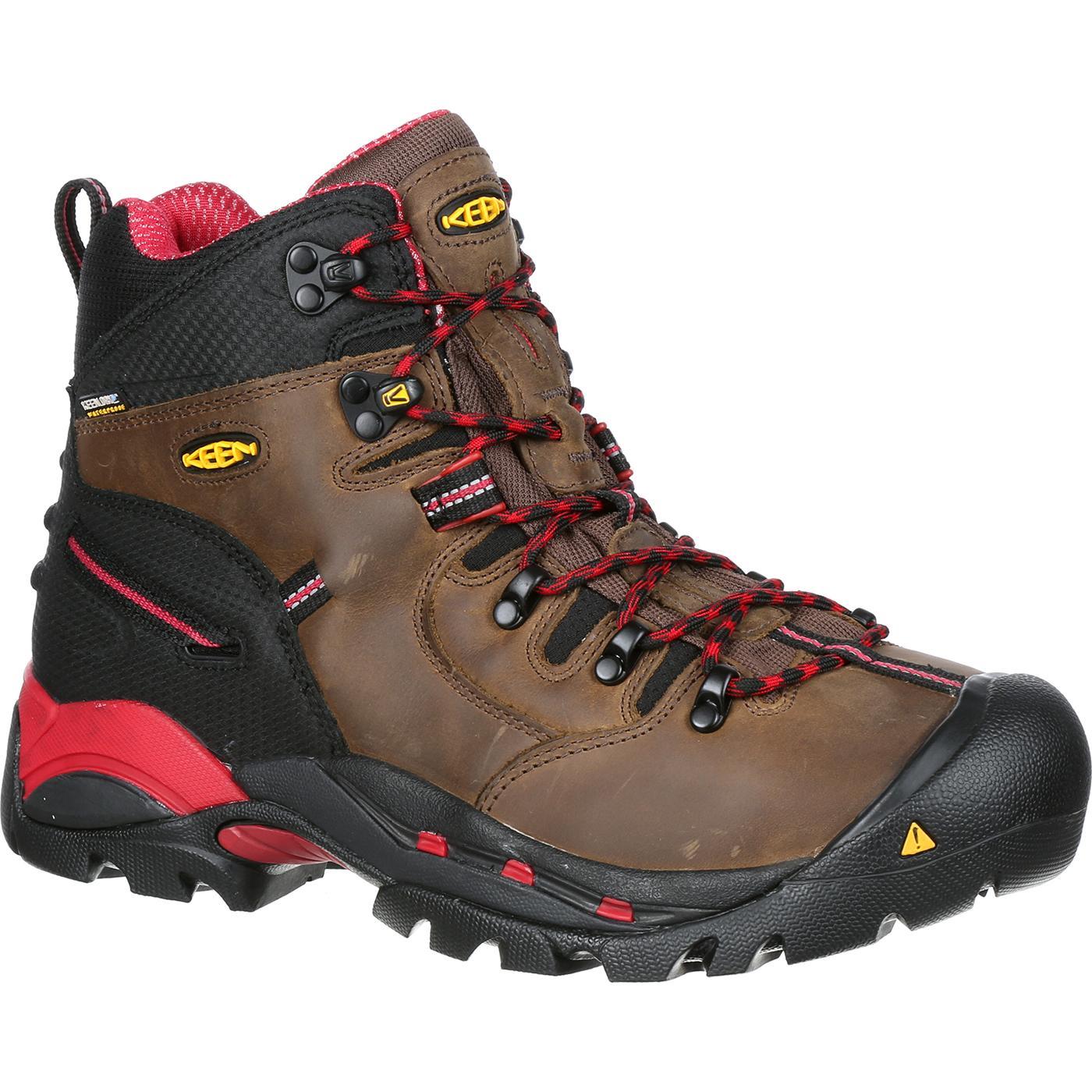 s keen steel toe waterproof work boot pittsburgh