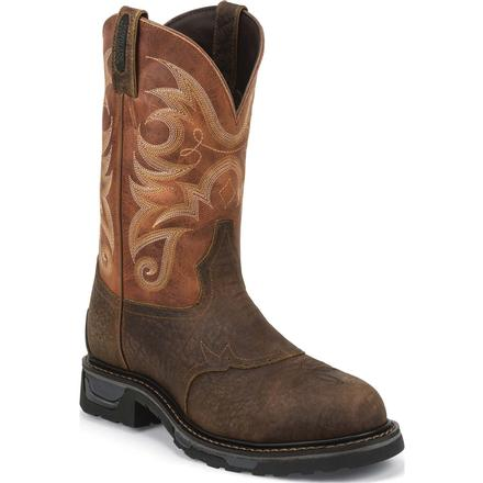 Tony Lama TLX Performance Composite Toe Waterproof Western Work Wellington, , large