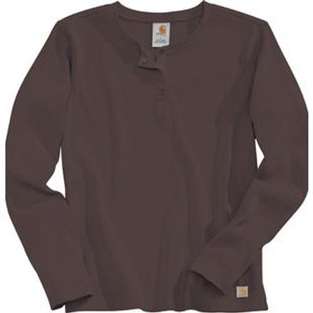 6eefc5dc Carhartt Women's Long Sleeve Henley ShirtCarhartt Women's Long Sleeve Henley  Shirt,