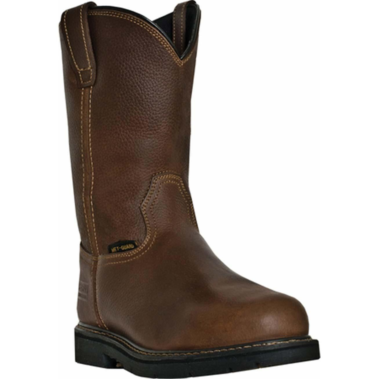 c145745054e McRae Industrial Steel Toe Internal MetGuard Work Pull-On Boot