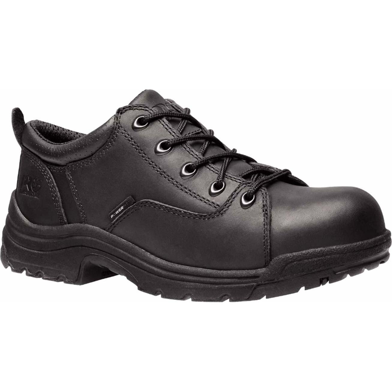 Timberland Pro Oxford Titan Alloy Safety Toe Shoes Black