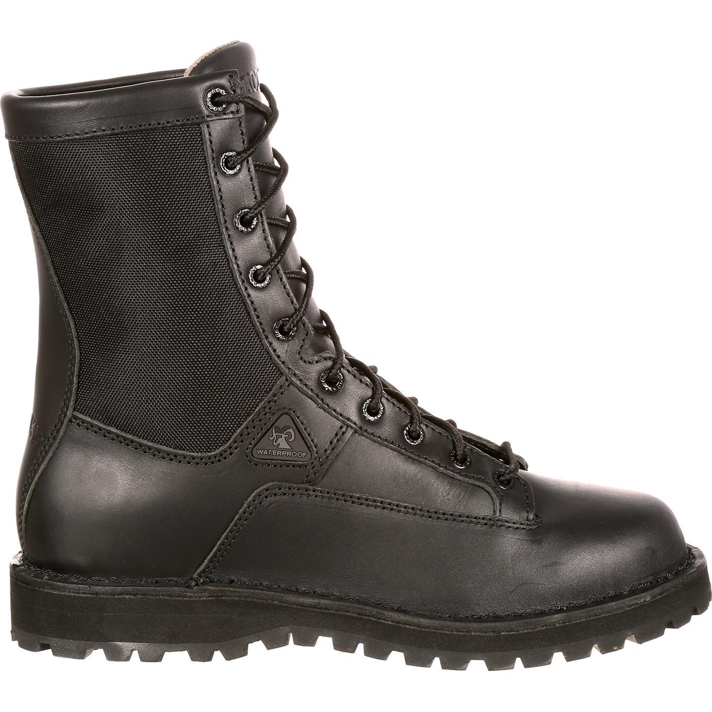 d89180087de Rocky Portland Lace-to-Toe Waterproof Duty Boots