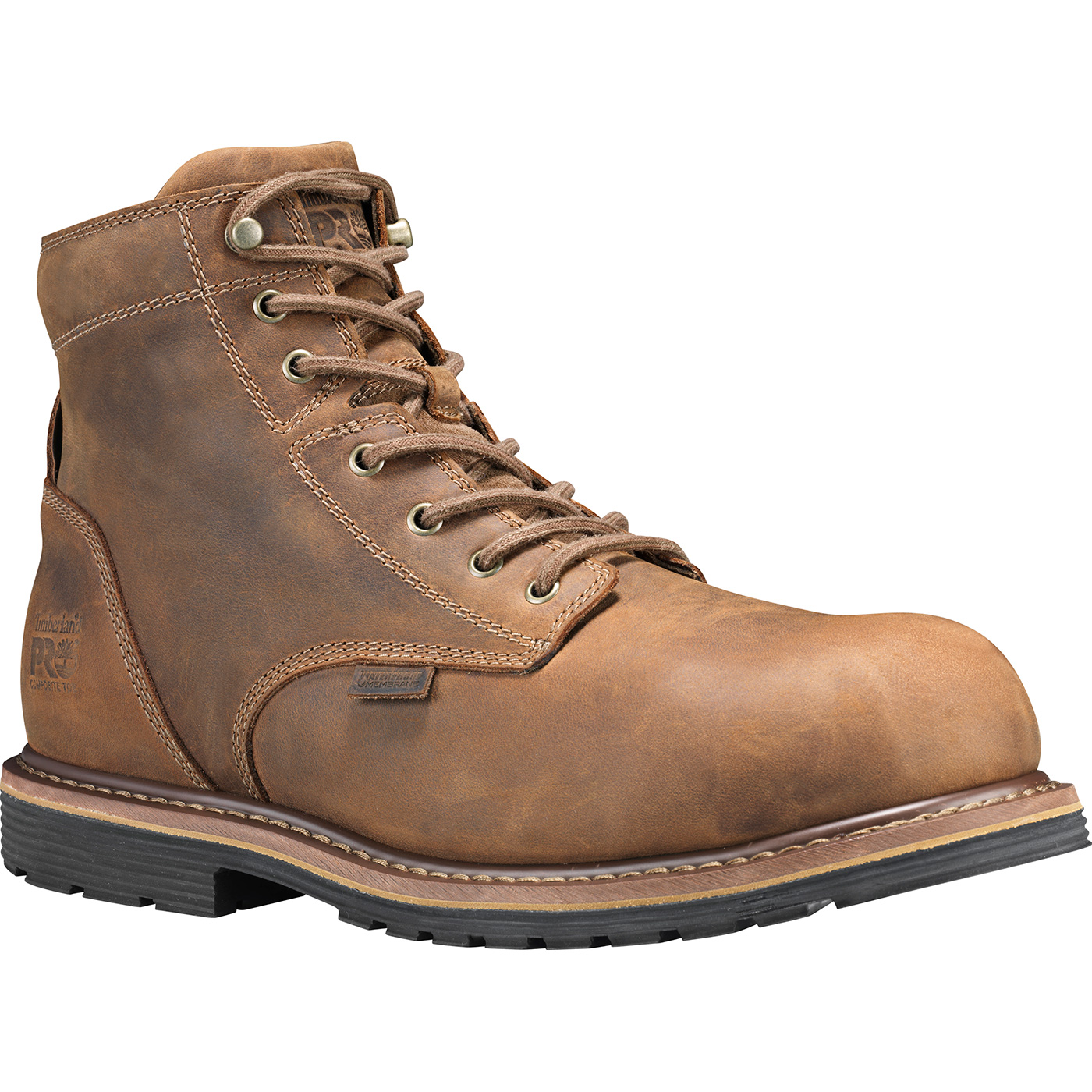 7abee0e9969 Timberland PRO Millworks Men's 6 inch Composite Toe Electrical Hazard  Waterproof Leather Work Boot