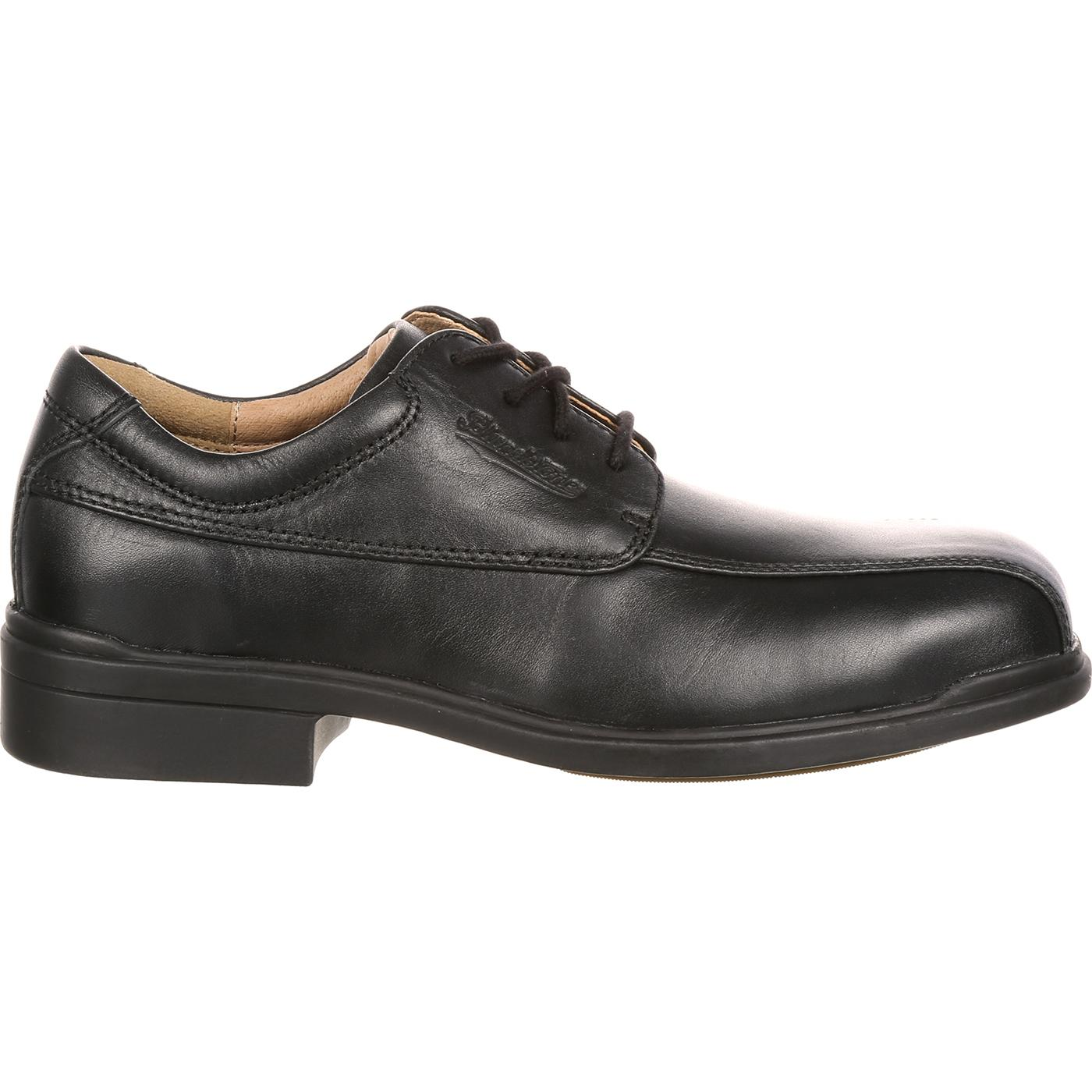 blundstone executive steel toe dress oxford work shoe blu780