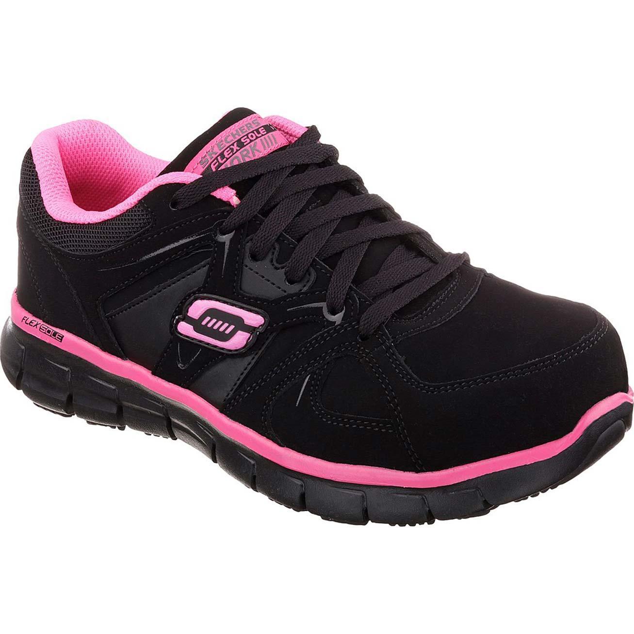 Synergy - Sandlot St- Black/Pink lace-ups