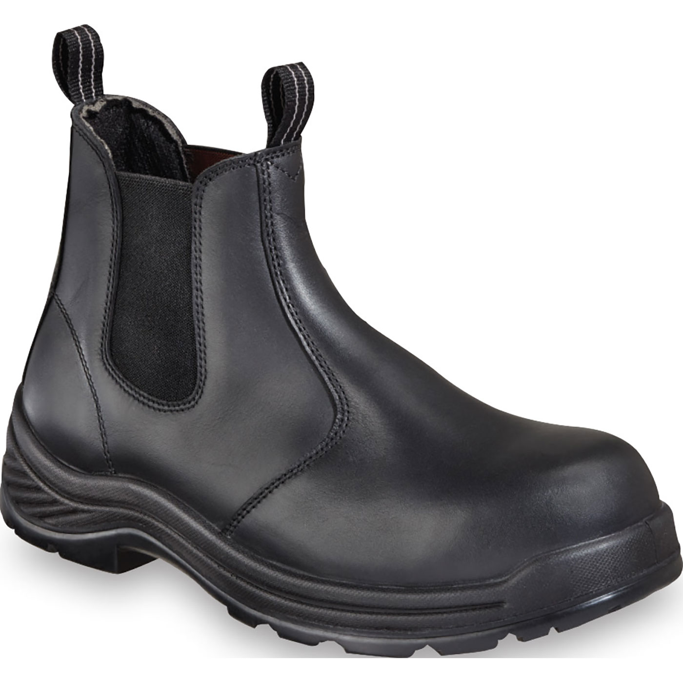 4752310729a Thorogood Quick-Release Men's 6 inch Composite Toe Non-Metallic Slip-On  Work Shoe