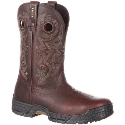 Rocky MobiLite Waterproof Western Work Boot, , large