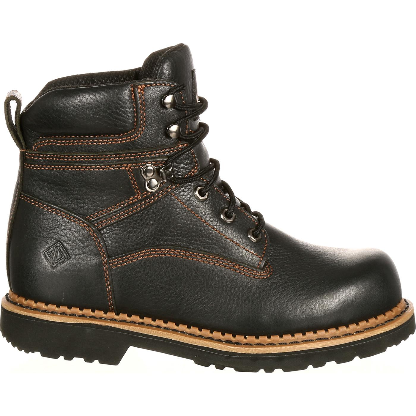 65bc1aac4c78 ... BootLehigh Safety Shoes Steel Toe Static-Dissipative Work Boot,.  Loading zoom