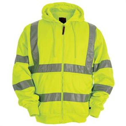 Berne Hi-Vis Thermal-Lined Hooded Sweatshirt