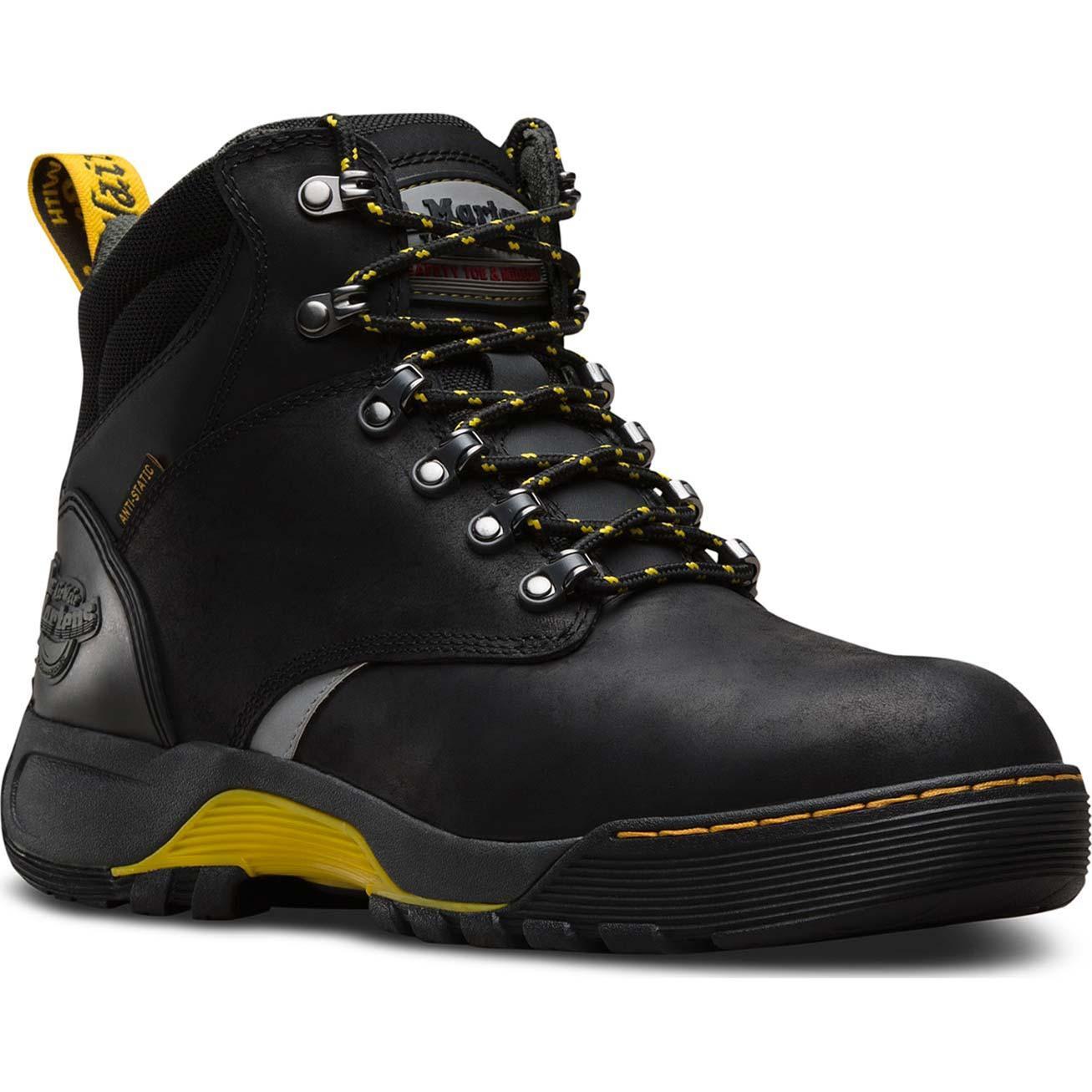c47dae98f7 Dr. Martens Ridge Unisex Steel Toe Puncture-Resistant Static-Dissipative  Slip-Resistant Work HikerDr. Martens Ridge Unisex Steel Toe  Puncture-Resistant ...