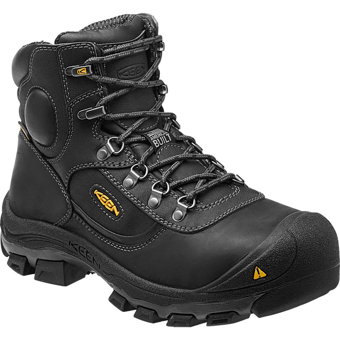 9ca9eaca99c Keen Leavenworth Steel Toe Internal Met Guard Waterproof Work Boot