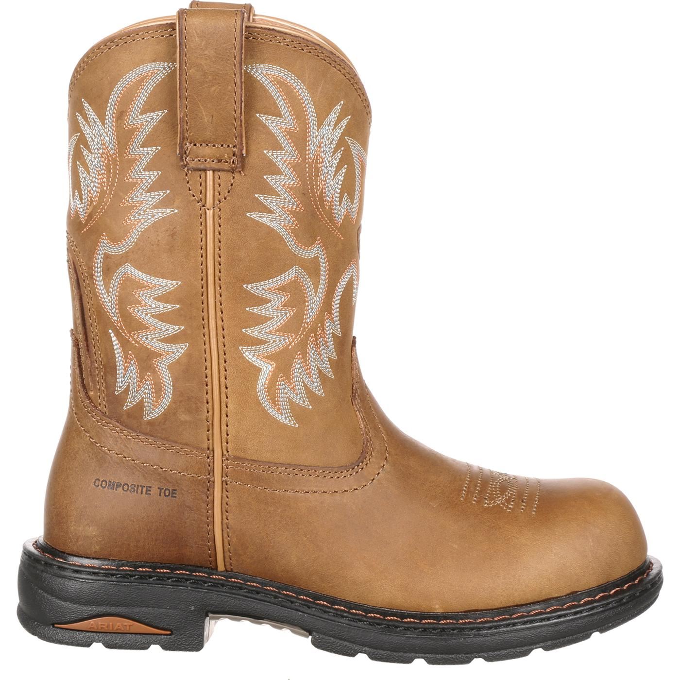 Women s posite Toe Pull Work Boots by Ariat Tracey