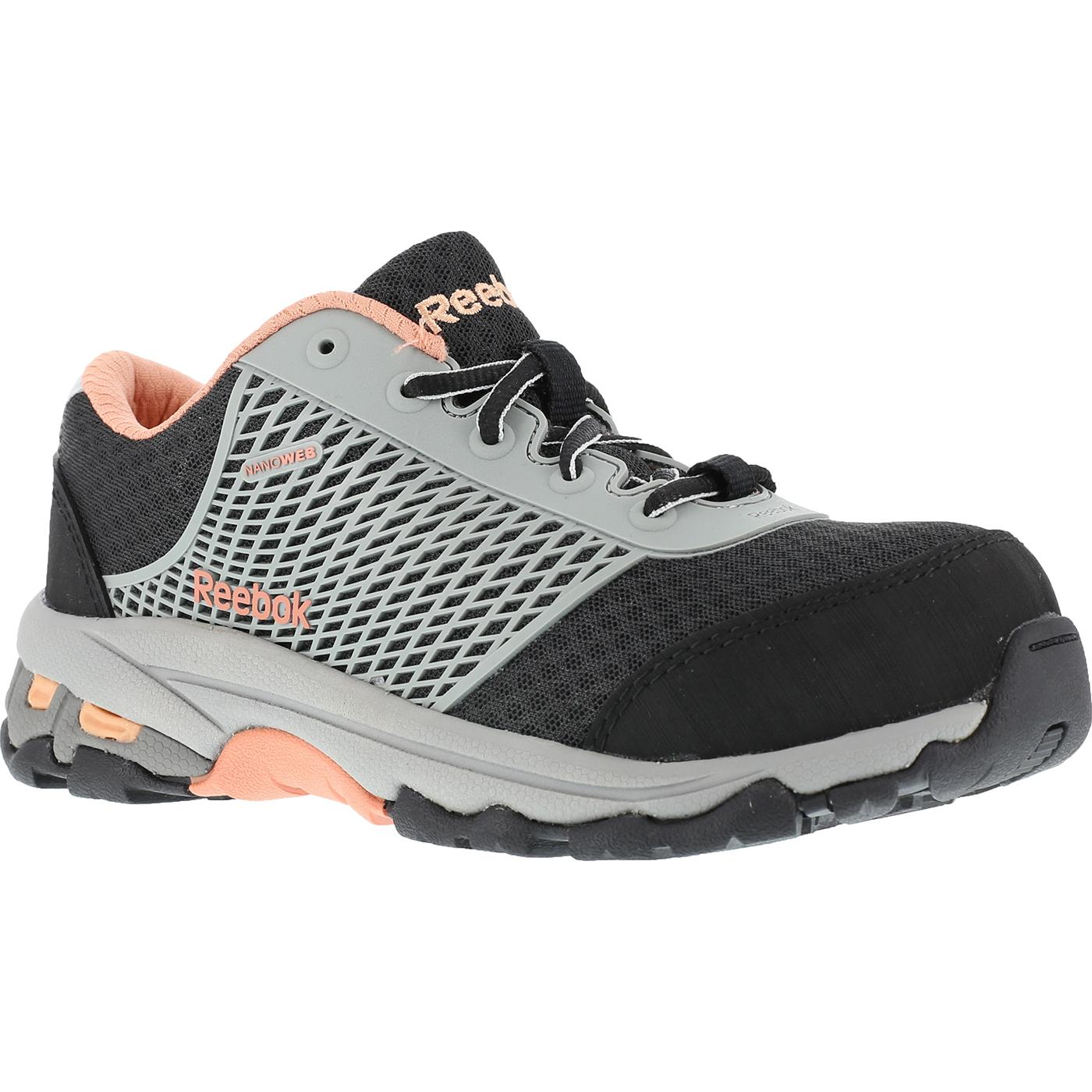 Reebok Heckler Women s Composite Toe Work Athletic ShoeReebok Heckler Women s  Composite Toe Work Athletic Shoe a290c2f92