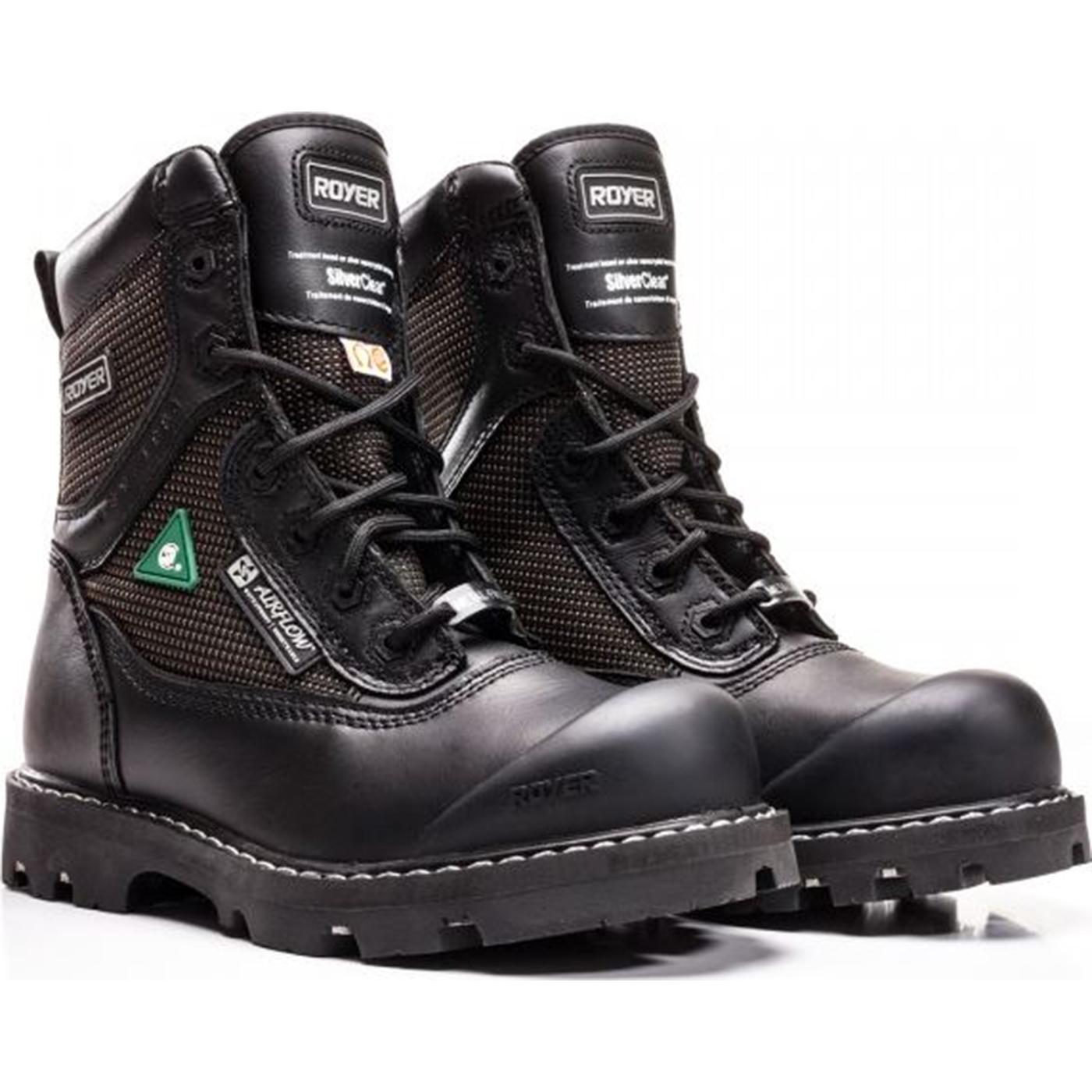 Composite Toe Csa Pr Waterproof Black Boot Royer