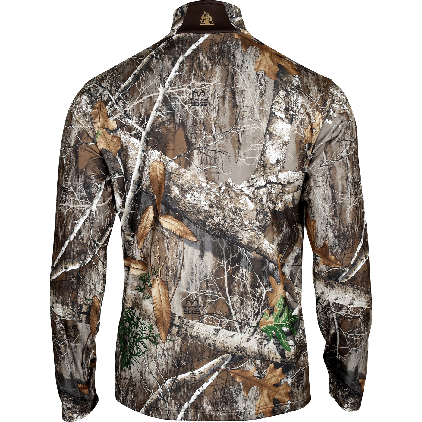4ac7118e6 Camo Men s Fleece 1 4 Zip Shirt - Rocky Venator HW00160