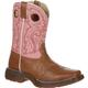 LIL' DURANGO® Little Kid Tan Lacey Western Boot, , small