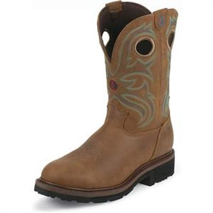 Tony Lama 3R Steel Toe Waterproof Western Boot, , large
