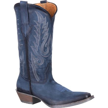 Durango Dream Catcher Women's Navy Western Boot, , large
