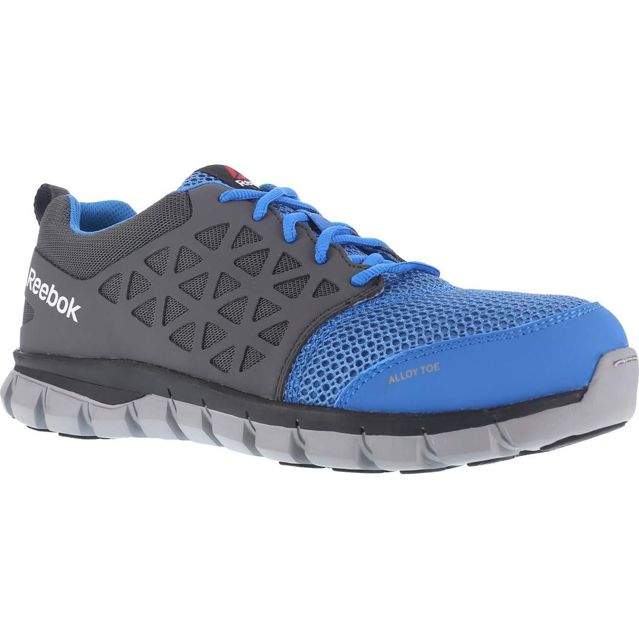 Reebok Sublite Cushion Work Alloy Toe Static Dissipative Work Athletic Shoe