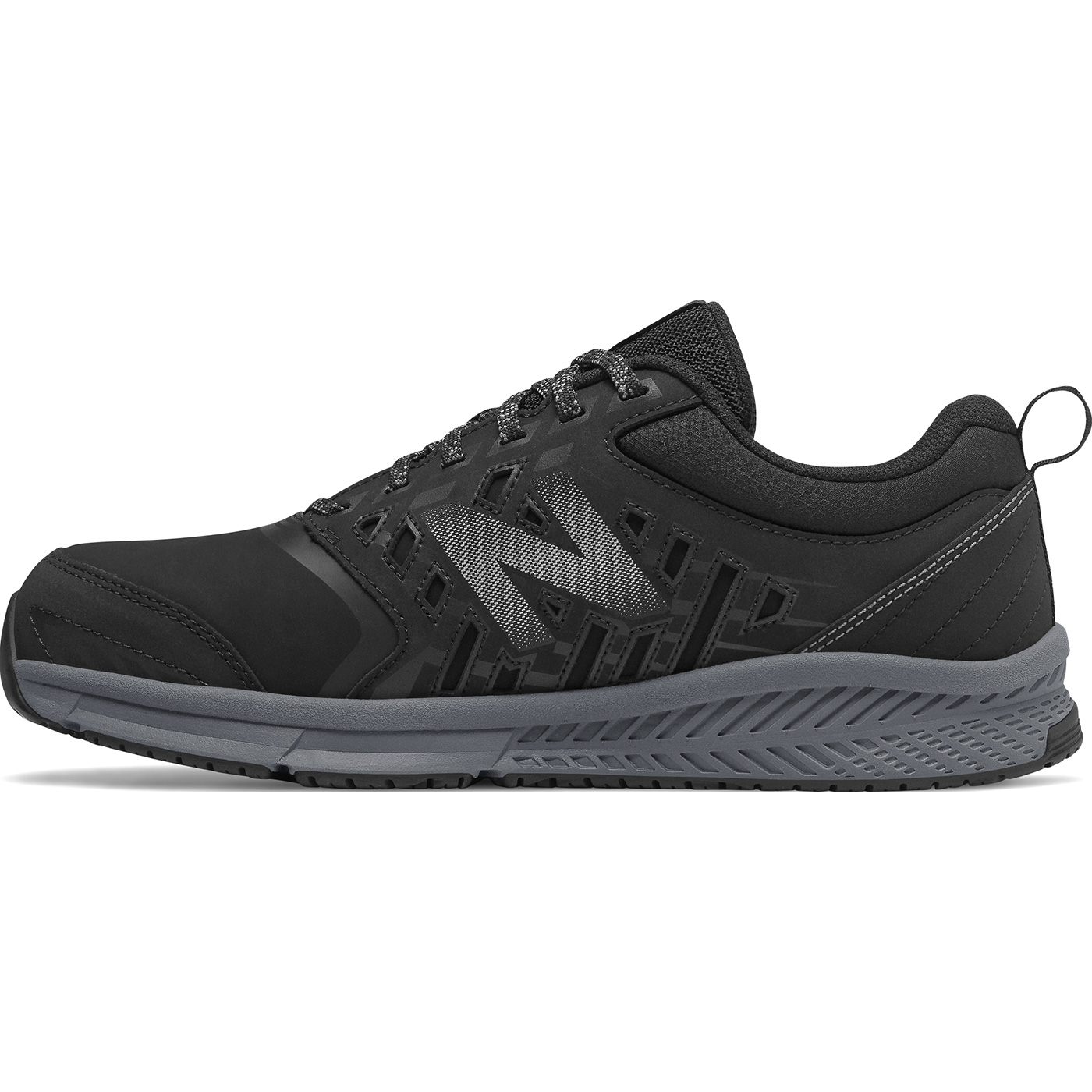 93c7d069489 New Balance 412v1 Men s Alloy Toe Black Athletic Work Shoes