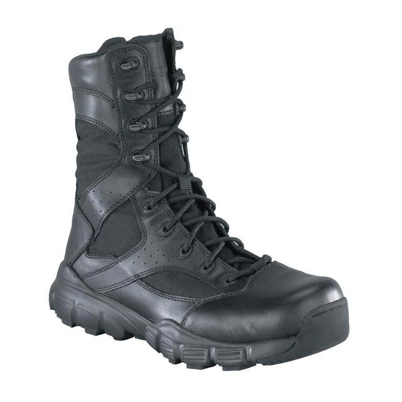 4186cf51055 Reebok Dauntless Duty Boot with Side Zipper, #RB8825
