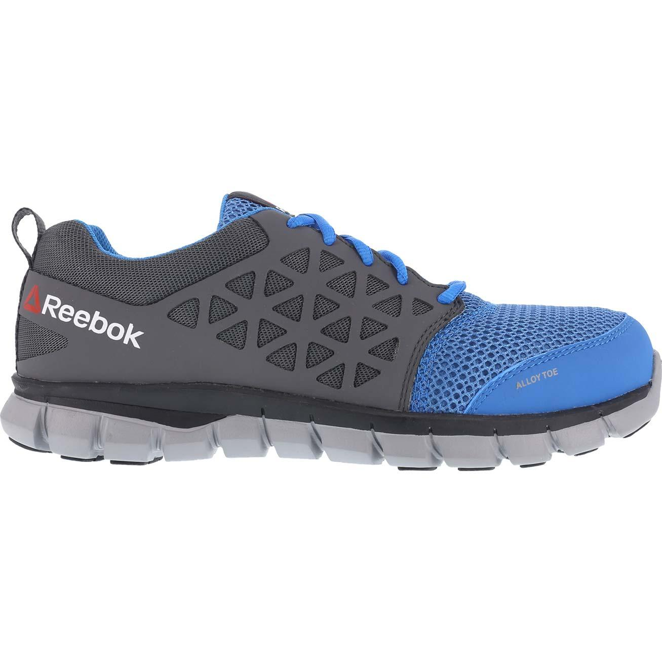 Reebok Sublite Cushion Work Alloy Toe Static Dissipative Work Athletic Shoe