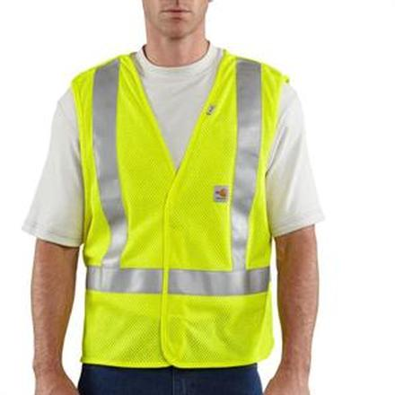 Carhartt Flame Resistant High-Visibility 5-Point Breakaway Vest, , large