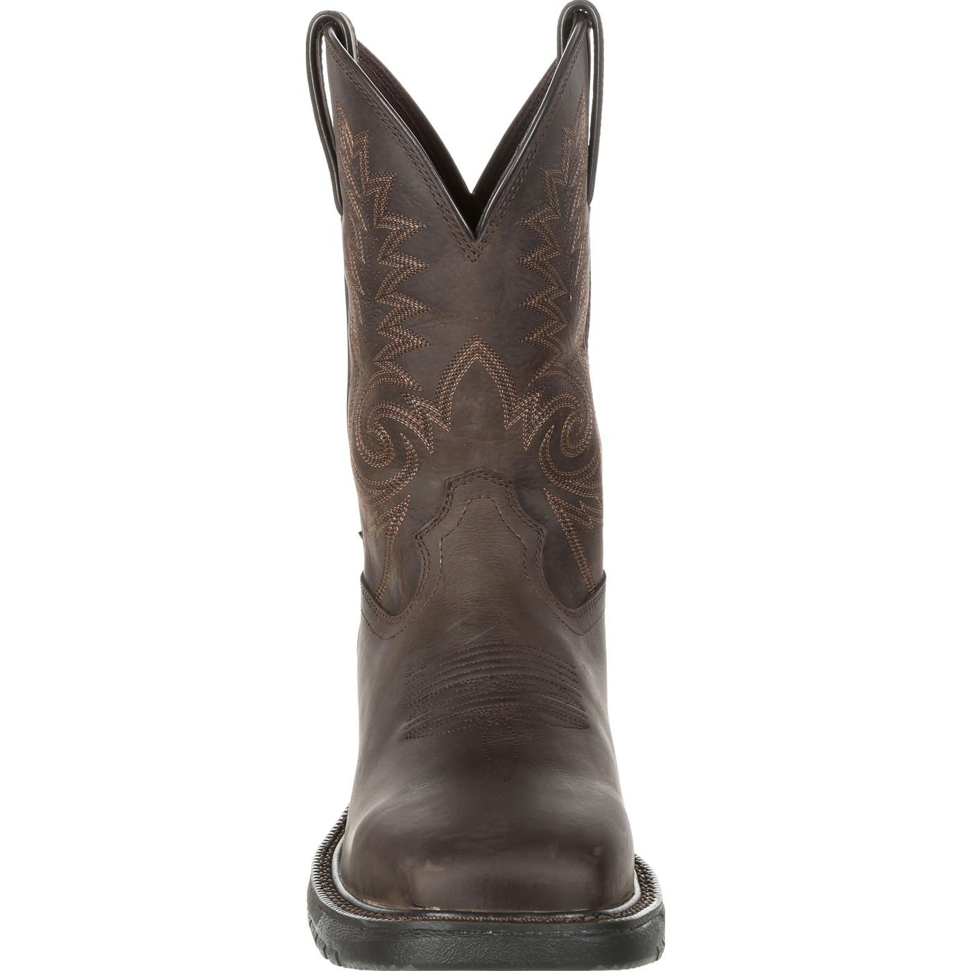 8c5399c95da Rocky Original Ride FLX Steel Toe Waterproof Western Boot