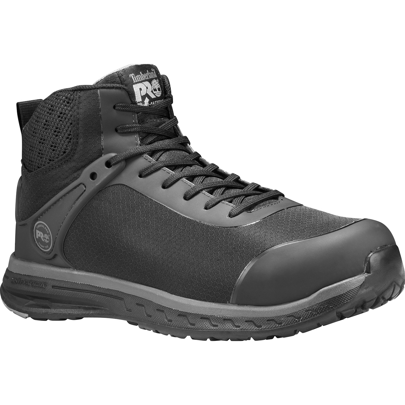 315cce776726 Timberland PRO Drivetrain Mid Men s Composite Toe Static-Dissipative  Athletic Work ShoeTimberland PRO Drivetrain Mid Men s Composite Toe  Static-Dissipative ...