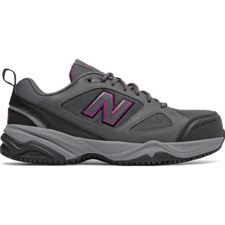 New Balance 627v2 Women's Steel Toe Slip Resistant Static Dissipative Leather Athletic Work Shoe, , large